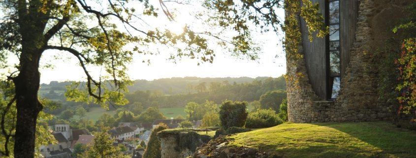 Vicq depuis le Vieux Château