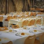 Banquet annuel. Tables.